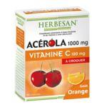 Herbesan Acérola 1000 Comprimés à Croquer Orange B/30 à Valenciennes