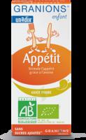 Granions Enfant Appétit Sirop Poire Fl/125ml à Valenciennes
