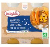 Babybio Pot Bonne Nuit Carotte Courge Butternut Riz à Valenciennes
