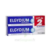 Elgydium Dentifrice Duo Blancheur Tube 2x75ml à Valenciennes