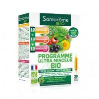 Santarome Bio Programme Ultra Minceur Solution Buvable 30 Ampoules/10ml à Valenciennes