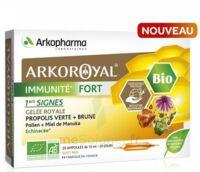 Arkoroyal Immunité Fort Solution Buvable 20 Ampoules/10ml à Valenciennes