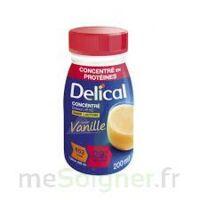 Delical Boisson Hp Hc Concentree Nutriment Vanille 4bouteilles/200ml à Valenciennes