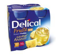 Delical Boisson Fruitee Nutriment Ananas 4bouteilles/200ml à Valenciennes