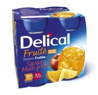 Delical Boisson Fruitee Nutriment Multi Fruits 4bouteilles/200ml à Valenciennes