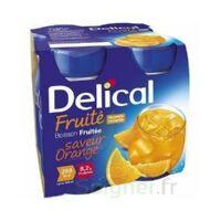 Delical Boisson Fruitee Nutriment Orange 4bouteilles/200ml à Valenciennes
