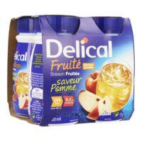 Delical Boisson Fruitee Nutriment Pomme 4bouteilles/200ml à Valenciennes