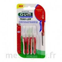 Gum Trav - Ler, 0,8 Mm, Manche Rouge , Blister 4 à Valenciennes