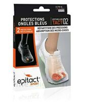 Epitact Sport Protections Ongles Bleus Epitheliumtact 02, Small à Valenciennes