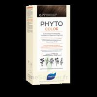 Phytocolor Kit Coloration Permanente 6.77 Marron Clair Cappuccino à Valenciennes