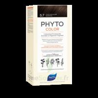 Phytocolor Kit Coloration Permanente 5.7 Châtain Clair Marron à Valenciennes