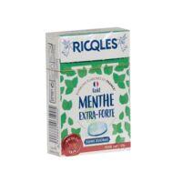 Ricqles Sucres Cuits Bonbon Menthe Extra-forte Sans Sucre B/40g à Valenciennes