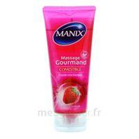 Manix Gel Comestible De Massage Fraise 200ml à Valenciennes