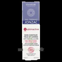 Jonzac Eau Thermale Sublimactive Crème Soin Contour Yeux Lèvres Jeunesse Immédiate 15ml à Valenciennes