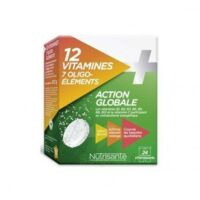 Nutrisanté 12 Vitamines+7 Oligo-éléments Comprimés Effervescents 2*t/12