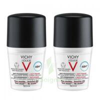 Vichy Homme Déodorant Anti-transpirant Anti Trace 48h 2*billes/50ml à Valenciennes