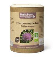 Nat&form Eco Responsable Chardon Marie Bio Gélules B/200 à Valenciennes