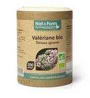 Nat&form Eco Responsable Valériane Bio Gélules B/200 à Valenciennes