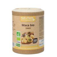 Nat&form Eco Responsable Maca Bio Gélules B/200 à Valenciennes