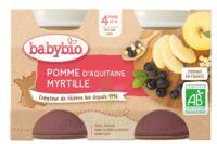Babybio Pot Pomme Myrtille à Valenciennes