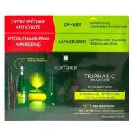 René Furterer Triphasic Progressive Sérum Antichute Coffret 8 Flacons X 5,5ml + Shampoing Stimulant 100 Ml à Valenciennes