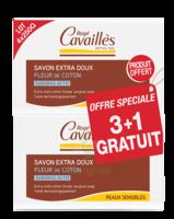 Rogé Cavaillès Savon Surgras Extra Doux Fleur De Coton 3x250g + 1 Offert à Valenciennes