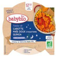 Babybio Assiette Bonne Nuit Légumes Quinoa à Valenciennes